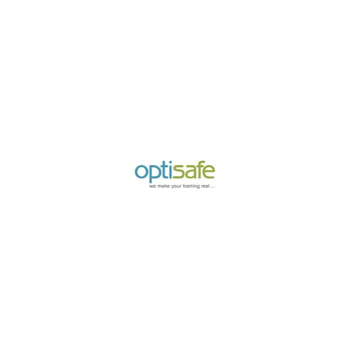 Simuleret Brændende Affaldscontainer
